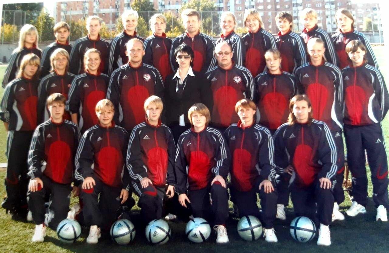 Женский футбольный клуб Звезда-2005. 2006 год.
